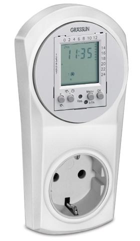 Grässlin Timer digital Top 600 16 Amp.