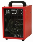 Dania Elektrische Verwarming 2 kW (1000&2000 Watt/230 V)