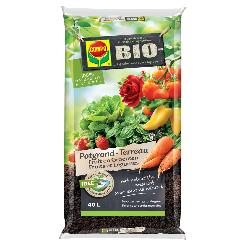 Compo Bio Erde Obst & Gemuse 40 L.