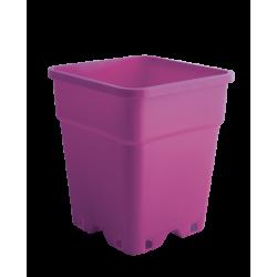 Plantcontainer 24x24x28,3 cm. 11 Liter paars
